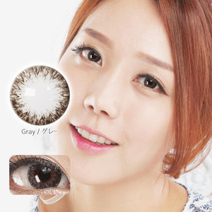 FD22 GREY colored contacts