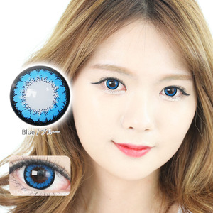 K12 BLUE colored contacts