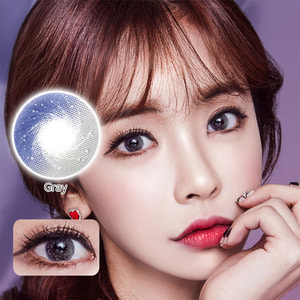 QLO Grey colored contacts