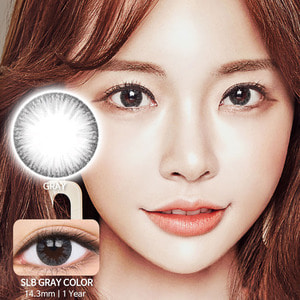 SLB Gray colored contacts